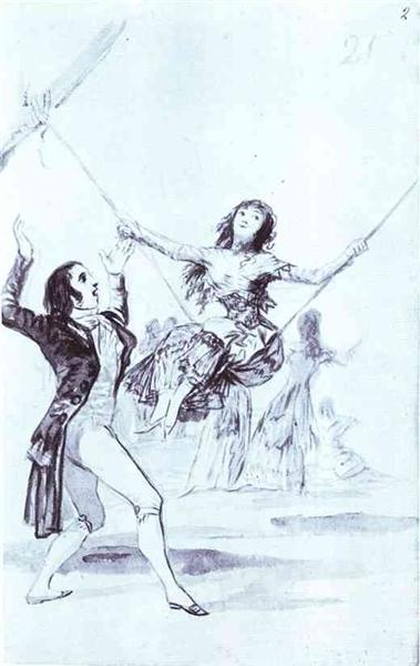 The Swing, 1796 - 1797 - Francisco Goya