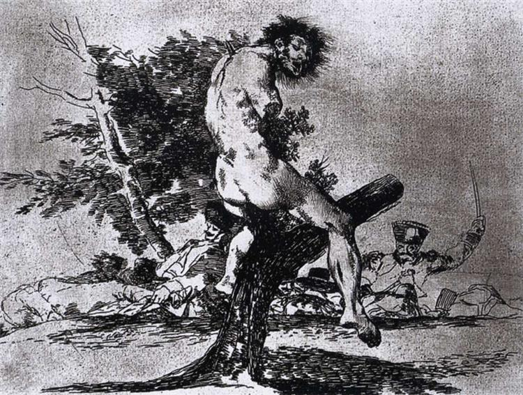 This is worse, 1812 - 1815 - Francisco Goya