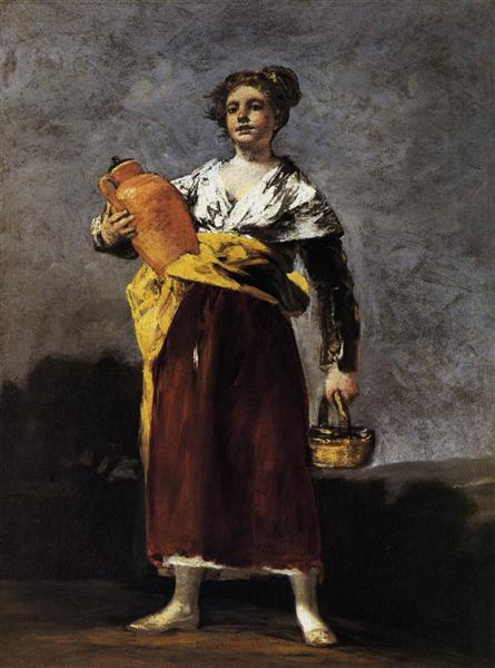 Water Carrier, 1808 - 1812 - Francisco Goya