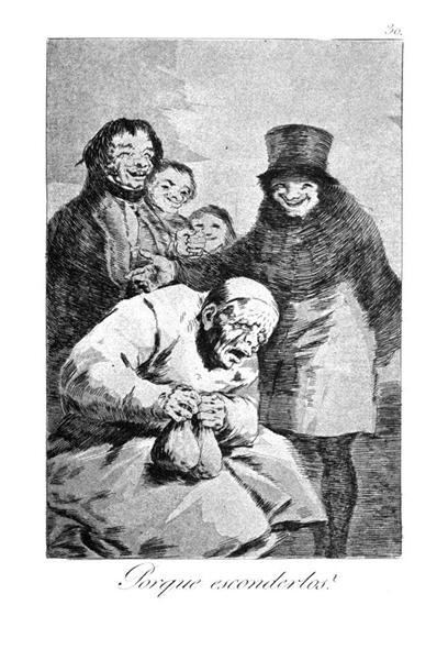 Why hide them?, 1799 - Francisco Goya