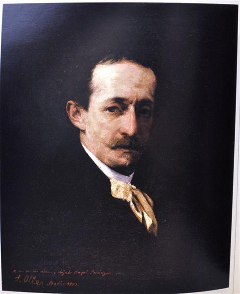 Autorretrato, 1880 - Francisco Oller