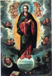 Inmaculada con Miguel del Cid - Francisco Pacheco