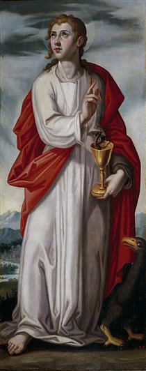 San Juan Evangelista - Francisco Pacheco