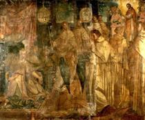 The Last Communion of St Peter Nolasco - Francisco Pacheco