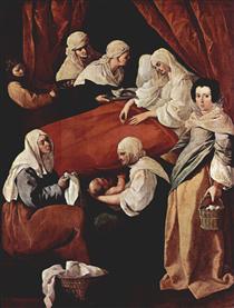 Nascimento da Virgem - Francisco de Zurbarán