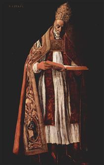 São Gregório - Francisco de Zurbarán