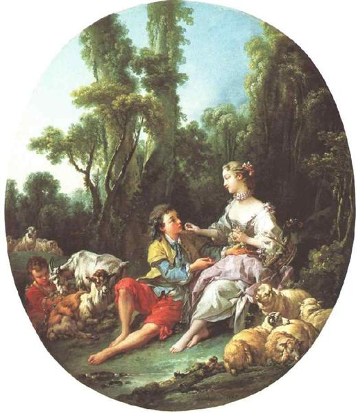 They Thinking About the Grape, 1747 - Francois Boucher