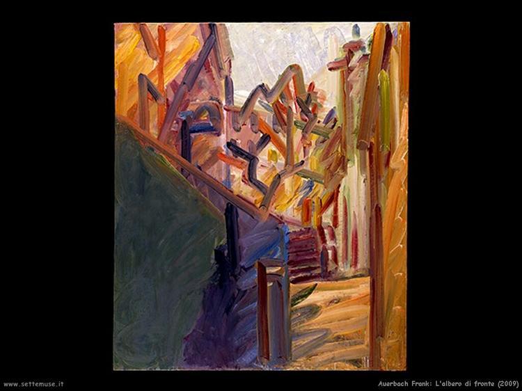 Albero di Fronte, 2009 - Frank Auerbach