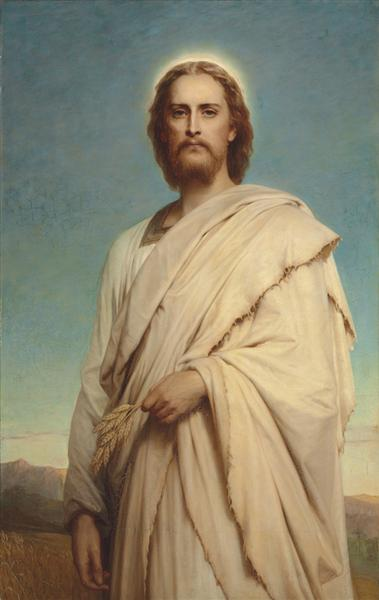 Christ of the Cornfield, 1888 - Frank Dicksee