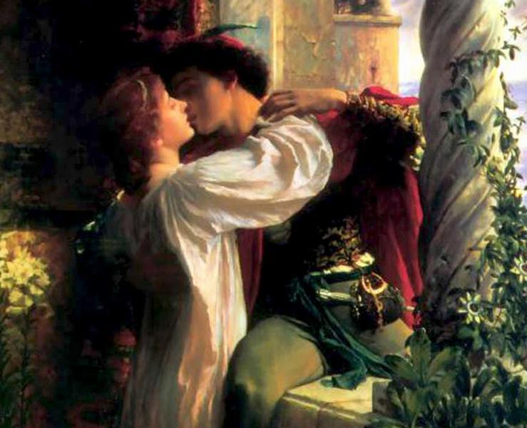 Romeo and Juliet (detail), 1884 - Frank Dicksee