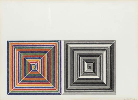 Jasper's Dilemma, 1962 - Frank Stella