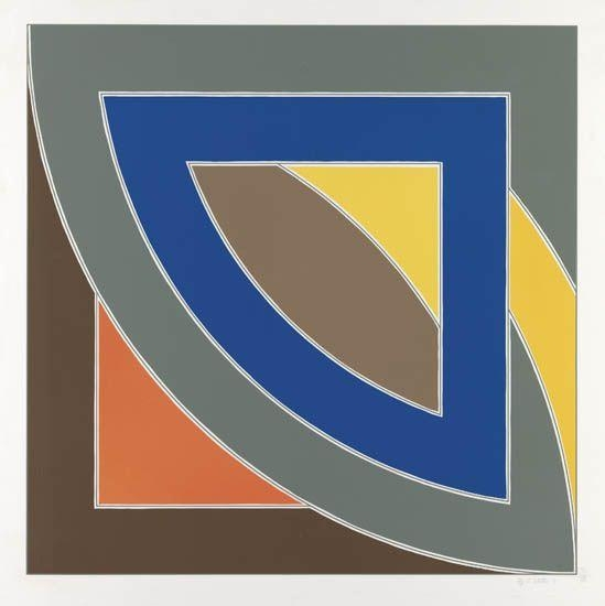River of Ponds I, 1971 - Frank Stella