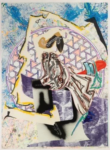 The Great Heidelburgh Tun, 1988 - Frank Stella