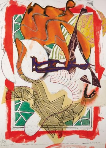 The Waves I: Hark!, 1989 - Frank Stella