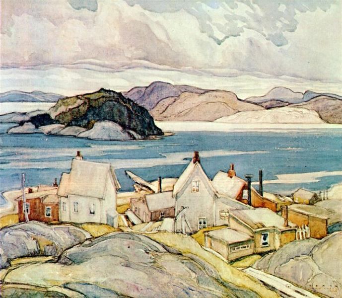 Jackknife Village, 1926 - Franklin Carmichael