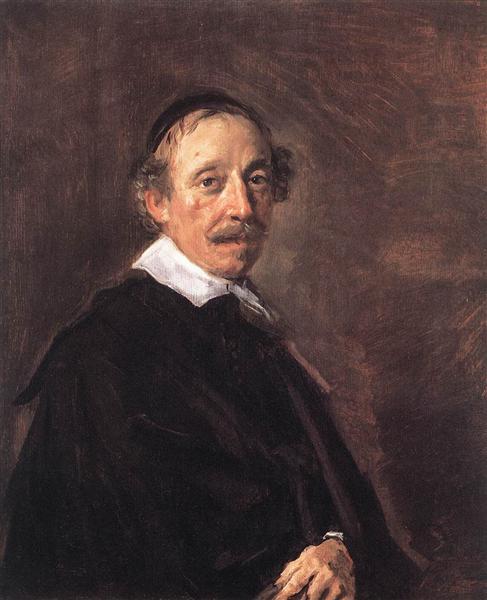 Portrait of a Preacher, c.1658 - c.1660 - Франс Галс