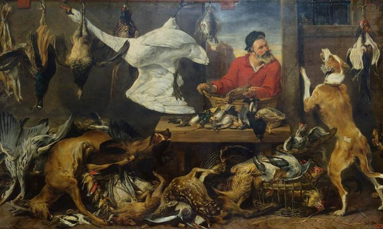 Game Stall, 1618 - Frans Snyders