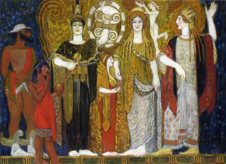 The Crowning of Helen, 1906 - Франтишек Купка