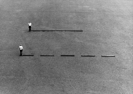 Ten Meters Twice (Sidesteps) - Franz Erhard Walther