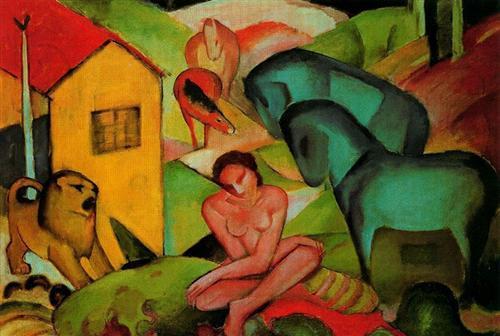 The Dream - Franz Marc