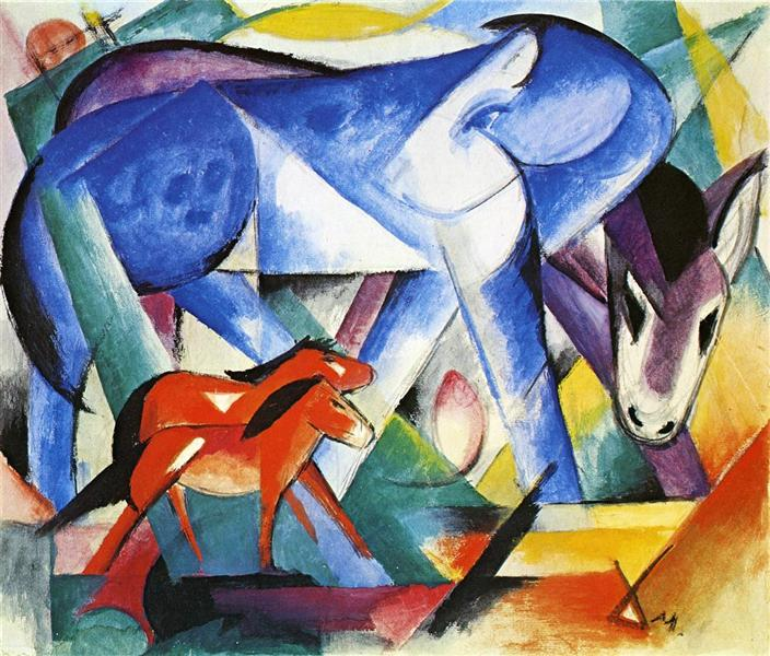 The First Animals, 1913 - Franz Marc