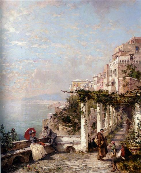 La costa de Amalfi - Franz Unterberger Richard