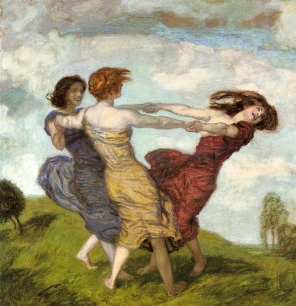 Sounds of Spring, 1910 - Franz Stuck