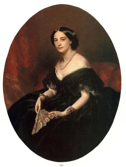 Portrait of a Lady, 1860 - Franz Xaver Winterhalter