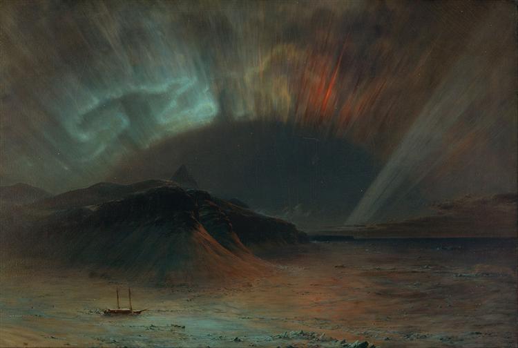Aurora Borealis - Frederic Edwin Church
