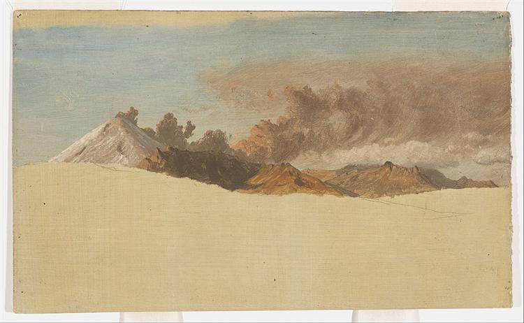 Le Cotopaxi depuis Ambato, Équateur, 1853 - Frederic Edwin Church