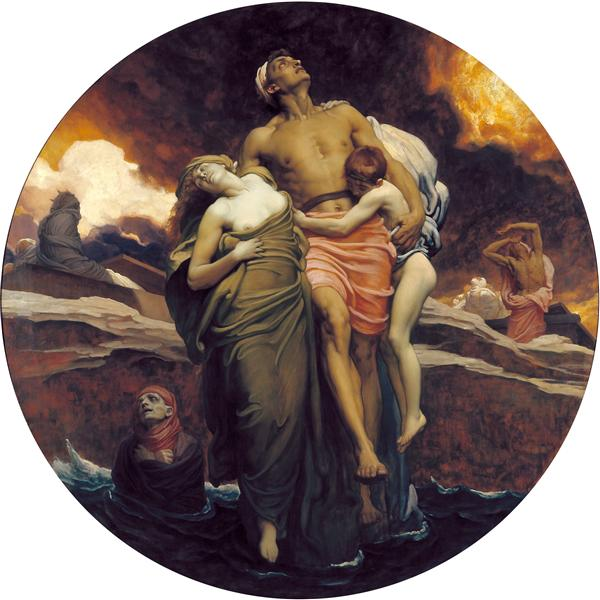 And the sea gave up, 1891 - Frederic Leighton