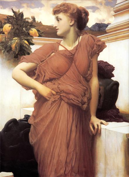 At the Fountain - Frederic Leighton