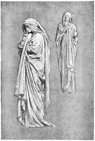 """Illustrations from Volume 1 of """"The Yellow Book"""", 1894 - Frederic Leighton"""