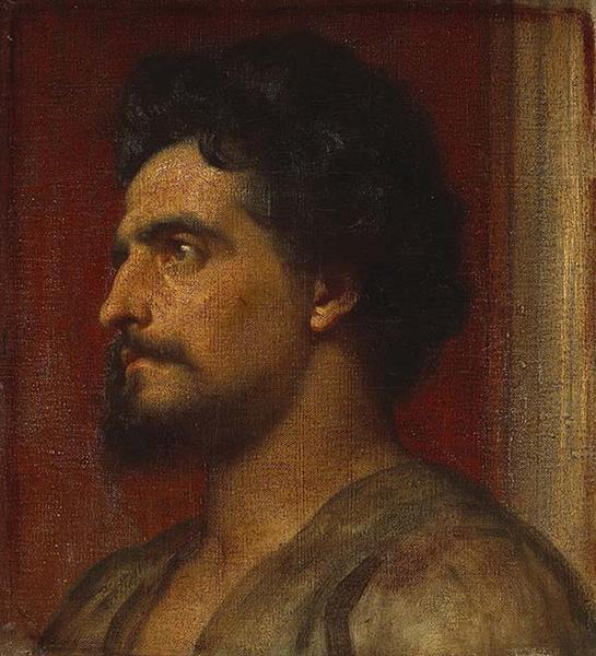 Samson, c.1858 - Frederic Leighton