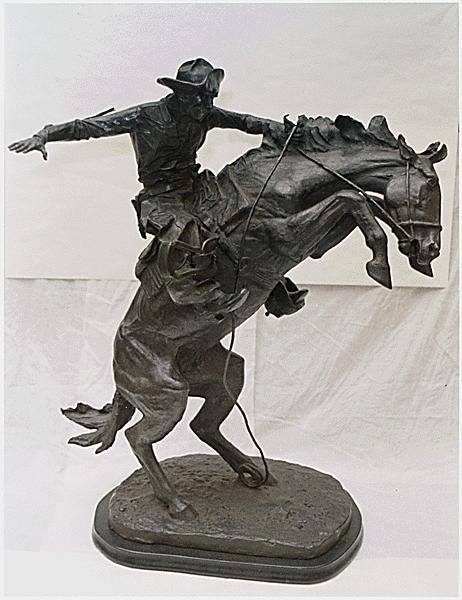 The Broncho Buster, 1909 - Frederic Remington