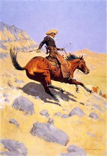 The Cowboy - Фредерик Ремингтон