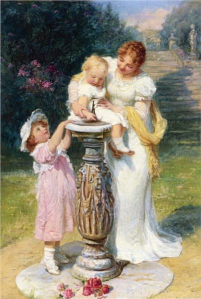 Sunny Hours, 1902 - Frederick Morgan