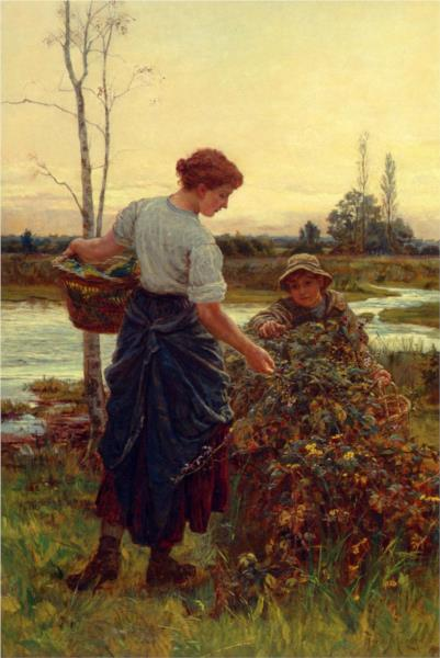 The Harvest, 1889 - Frederick Morgan