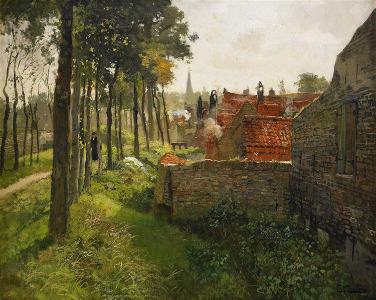 The Priest - Frits Thaulow
