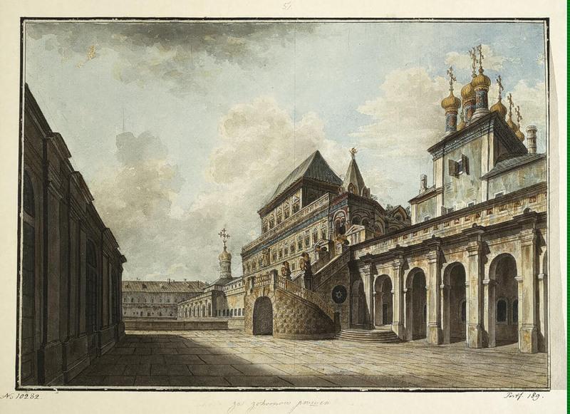 Boyars's platform, 1815