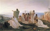 Pythagoreans celebrate sunrise - Fyodor Bronnikov