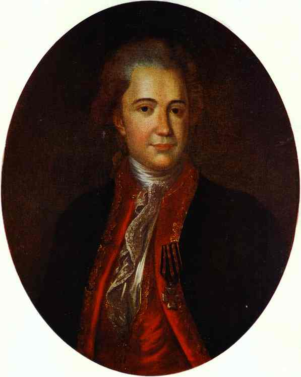 Portrait of an Unknown Man, 1780
