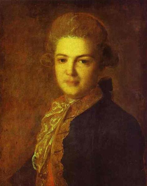 Portrait of Count Artemiy Ivanovich Vorontsov, 1765 - Fyodor Rokotov