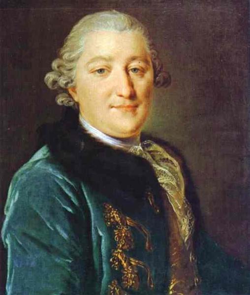 Portrait of Count I.G.Orlov, c.1762 - c.1765 - Fyodor Rokotov