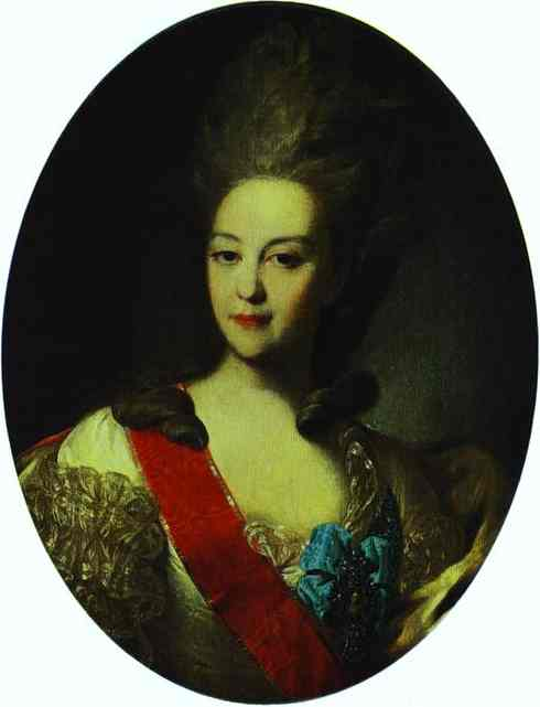 Portrait of Countess Ekaterina Orlova, 1779