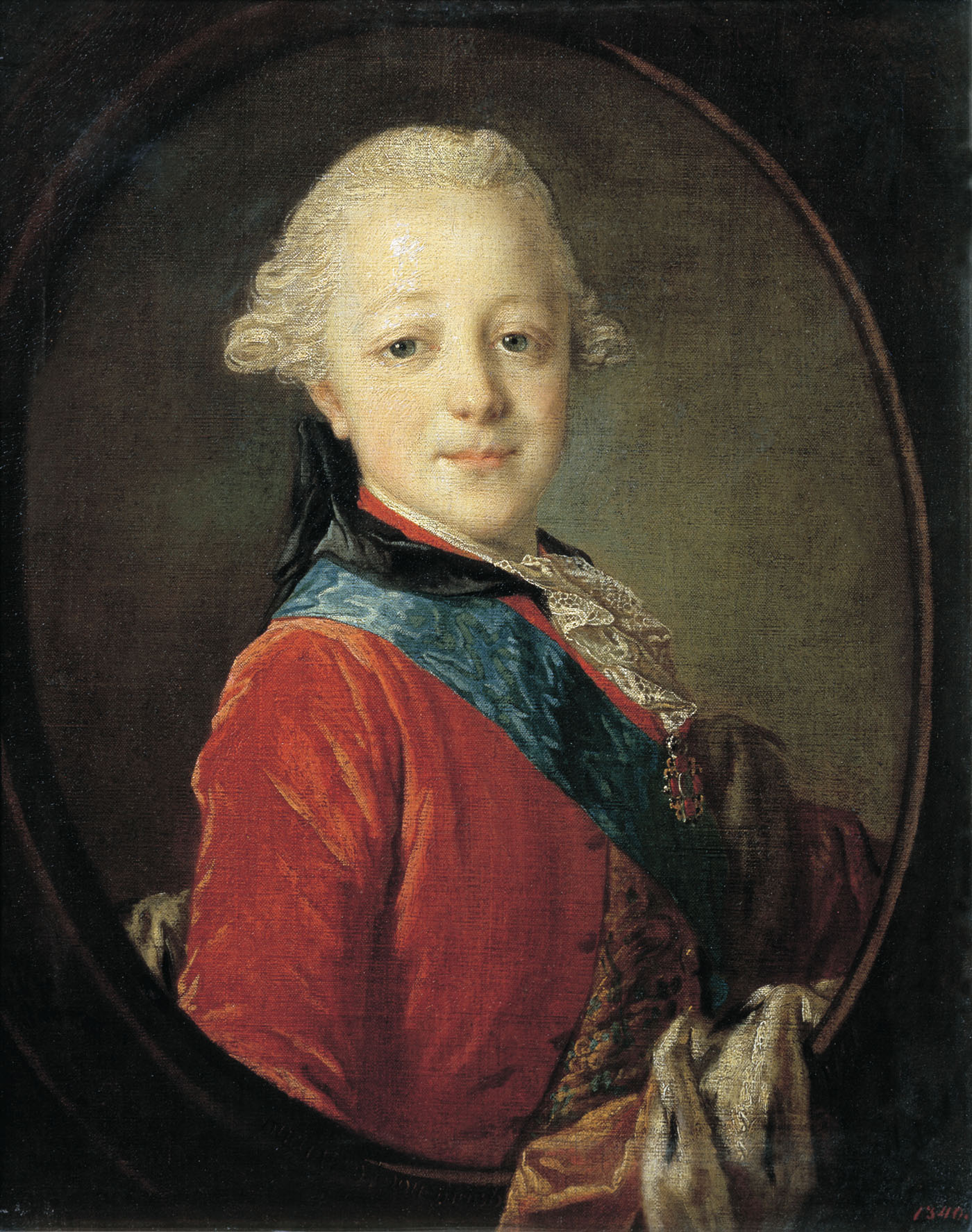 Portrait of Emperor Paul I as a Child, 1761
