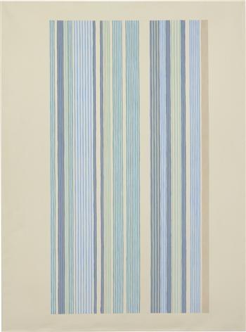 Blue Bird, 1978 - Gene Davis