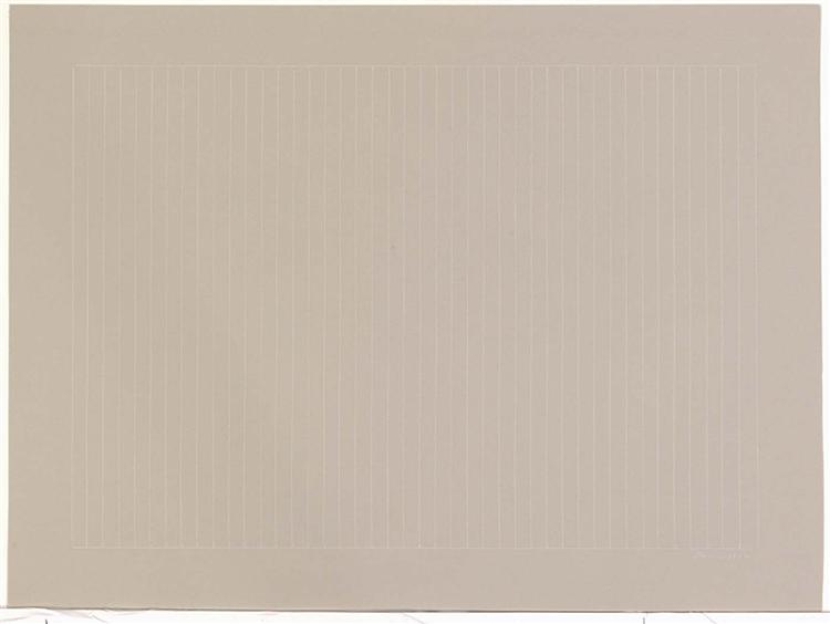 Untitled, 1972 - Gene Davis
