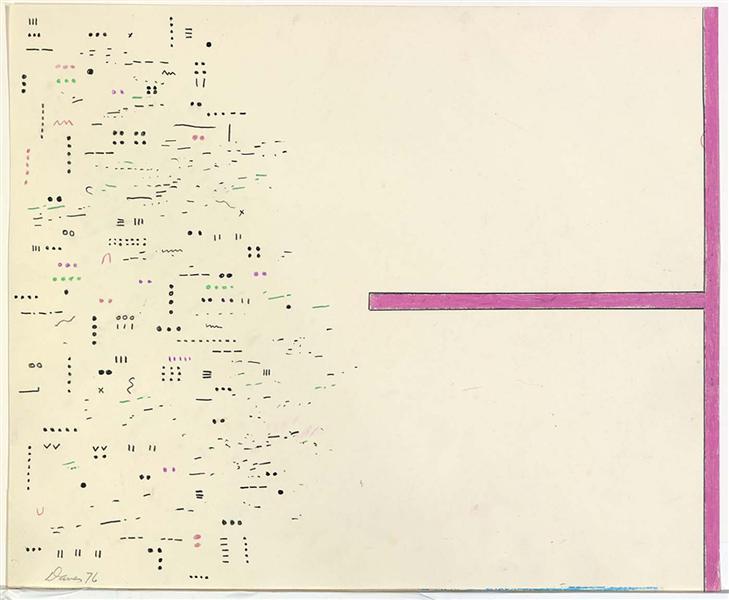 Untitled, 1976 - Gene Davis