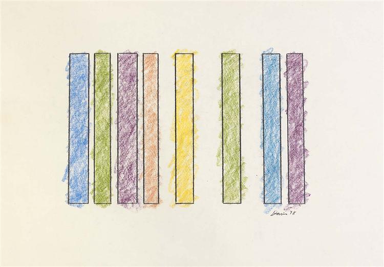 Untitled, 1978 - Gene Davis